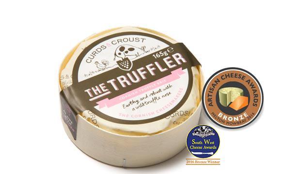 The Truffler artisan soft cheese