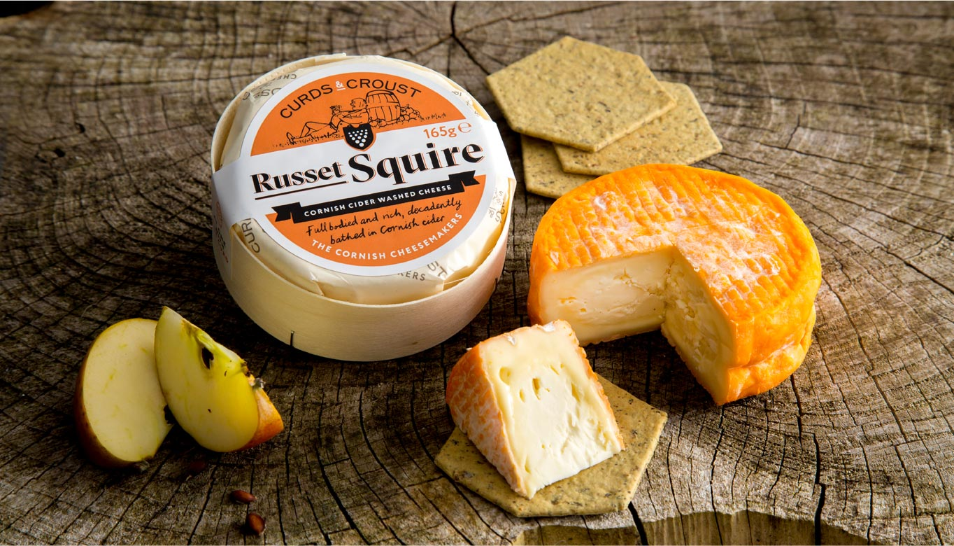 Russet Squire Cider Washed Rind Cheese
