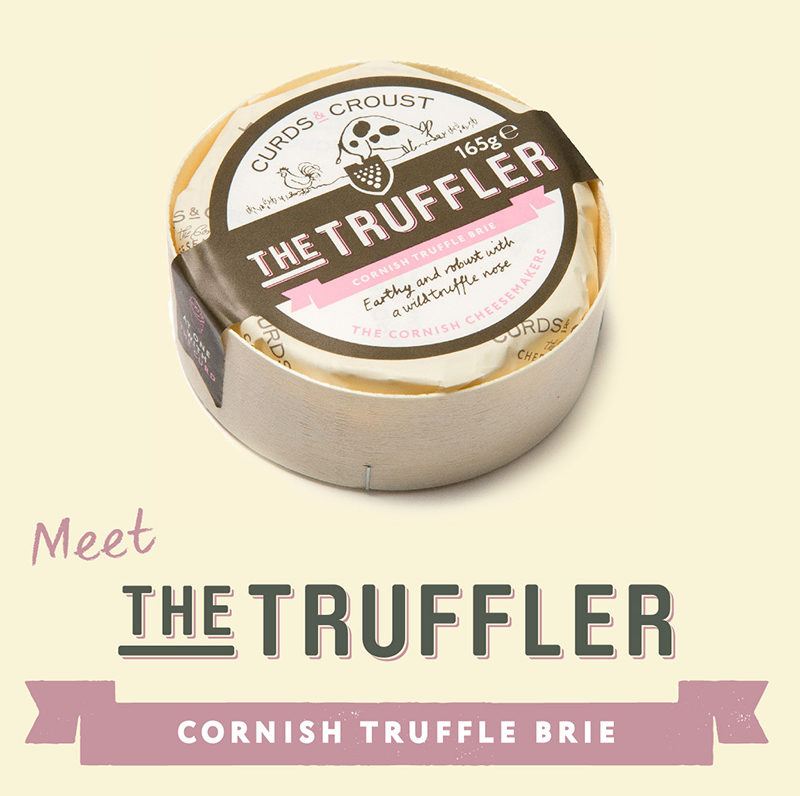 The Truffler Cornish Truffle Brie
