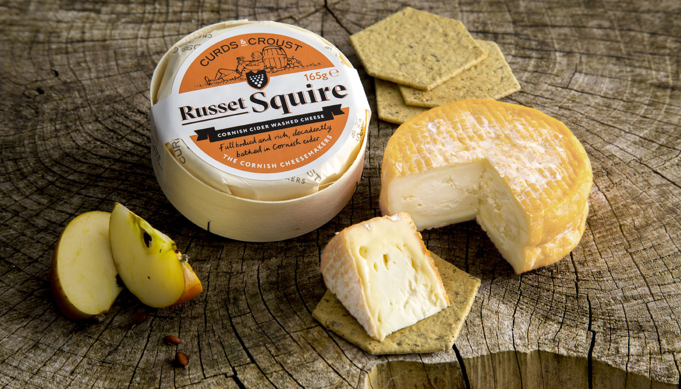 Russet Squire cider soaked cheese lifestlye