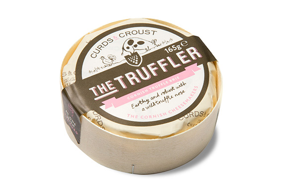 The Truffler - Truffle Cornish Brie - white